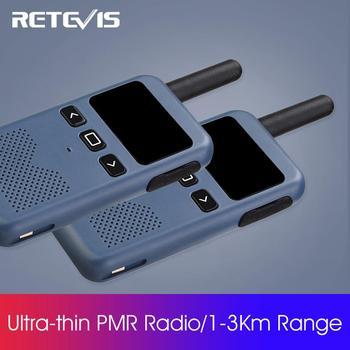 Walkie Talkie 2 Pcs Retevis RB619/RB19 PMR446/FRS Type-C Charging Screen Display VOX UHF Two-Way Radio Transceiver Walkie-Talkie - discount item  40% OFF Walkie Talkie