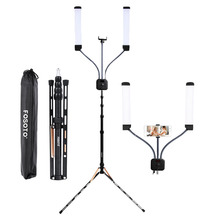 цена на Fusitu FT-450 Photographic Lighting Multimedia Extreme With Selfie Function 3000-5500K Led Ring Light For Video Camera Phone