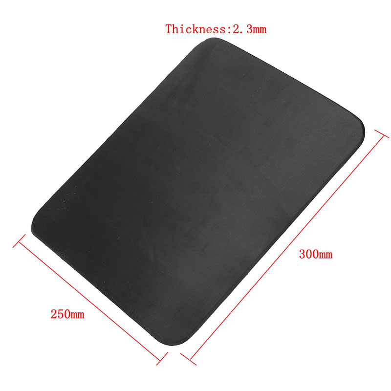Bulletproof Ballistic Panel Protector Body Armor Plate Steel Panel Alumina & PE Lvl IV Bulletproof Panel With 2.3mm Thickness