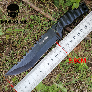 Image 2 - Tactical Fixed Blade Knife 8CR13MOV Steel Military Diving Knives Good for Hunting Camping Survival Outdoor and Everyday Carry