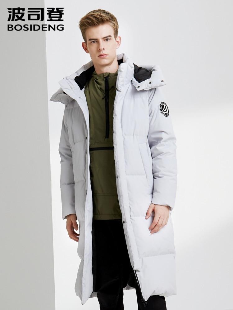 Bosideng New Long Down jacket Fashion Waterproof Coat B90142503DS
