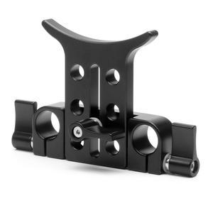 Image 4 - 15MM téléobjectif Support Support Support Support adaptateur pour 5D3 5D2 SLR DSLR caméras Photo Studio plate forme Rail tige suivre le système de mise au point
