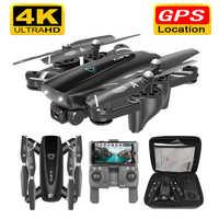 S167 GPS 5G RC Drones Quadcopter Zangão Com Câmera HD 4K WIFI FPV Dobrável Off-Ponto Voando fotos Vídeo Dron Helicóptero de