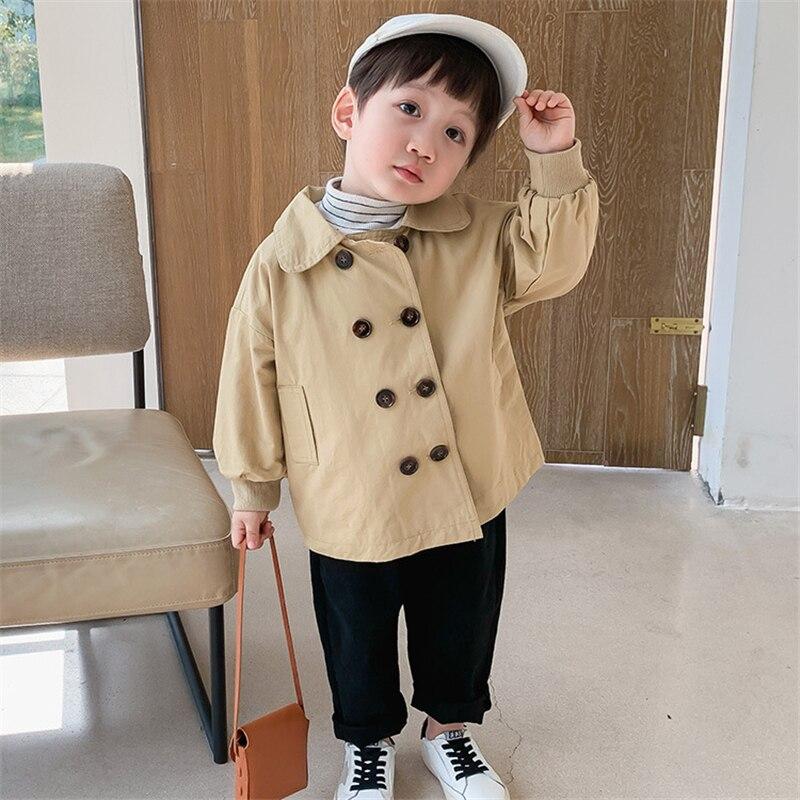 Children's clothing boys windbreaker baby spring jacket 2021 new children's Korean style children's clothing