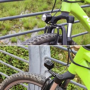 Image 5 - WEXPLORE دراجة كهربائية 6 فولت مصباح ليد ل Bafang و TSDZ2 منتصف محرك السيارات E الدراجة العلوي مع نك الألومنيوم الإسكان Ebike ضوء