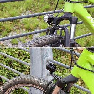 Image 5 - WEXPLORE Elektrische Bike 6V LED Licht für Bafang und TSDZ2 Mitte Antrieb Motor E Bike Scheinwerfer Mit CNC Aluminium gehäuse Ebike Licht