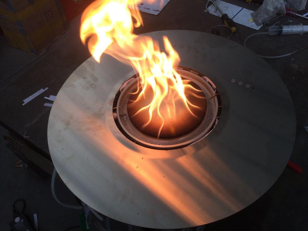 Hot Sale Bio Luxury Automatic Control Bio Ronde Ethanol Fireplace