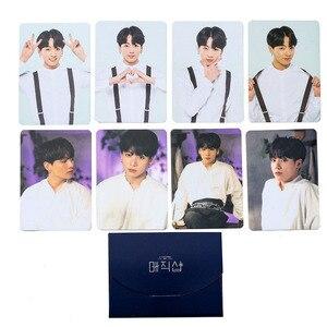 Bangtan Boys Map Of The Soul Persona Boys With Luv Fake Love LOMO Card Photobook Love Yourself JIMIN JIN SUGA JUNG KOOK(China)