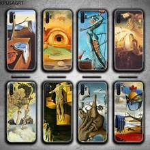 Salvador Dali Art Painting Phone Case For Samsung Galaxy Note20 ultra 7 8 9 10 Plus lite J7 J8 Plus 2018 Prime(China)