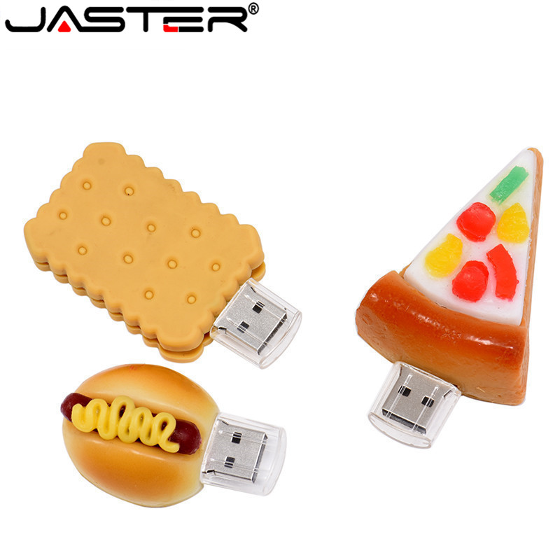 JASTER Pen Drive 4GB 8GB 16GB 32GB 64GB Usb French ,Pizza,Sushi,Shape USB Flash USB2.0 Flash Drive Pendrive Thumb