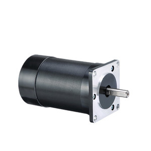 57 мм 24 в 60 Вт бесщеточный двигатель постоянного тока 3 фазы 8 мм круглый вал 57*57*75 мм 0,18 Н. М 3000 об/мин BLDC мотор 24 В bldc мотор