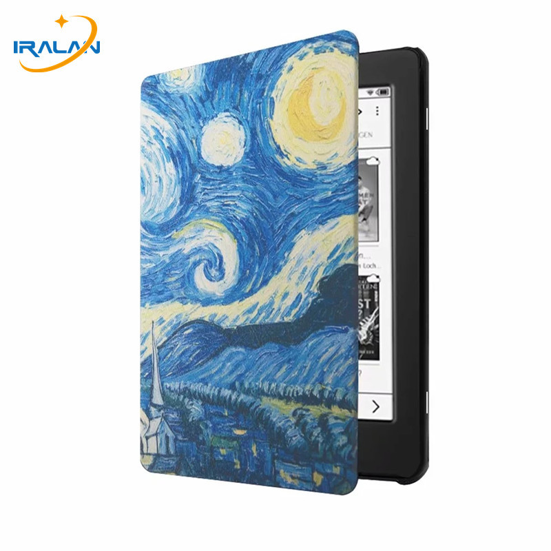 Cover Case for Tolino Page 2 2019 Sleep Cover for Tolino Page 2 6 inch e reader e book funda capa shell skin+Screen film+Stylus|Tablets & e-Books Case| |  -