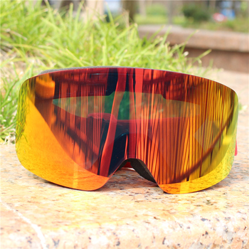 Ski Snowboard Goggles Women Men Skiing Eyewear Mask UV 400 Snow Protection Over Glasses Adult Double Anti-Fog Cylindrical