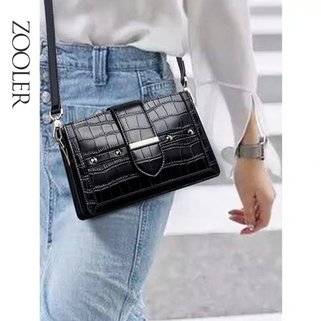 ZOOLER Women Cow Leather Hand bag 100% Genuine leather Bags Small High Quality Lady Shoulder Messenger Bag bolsa feminina ZF231
