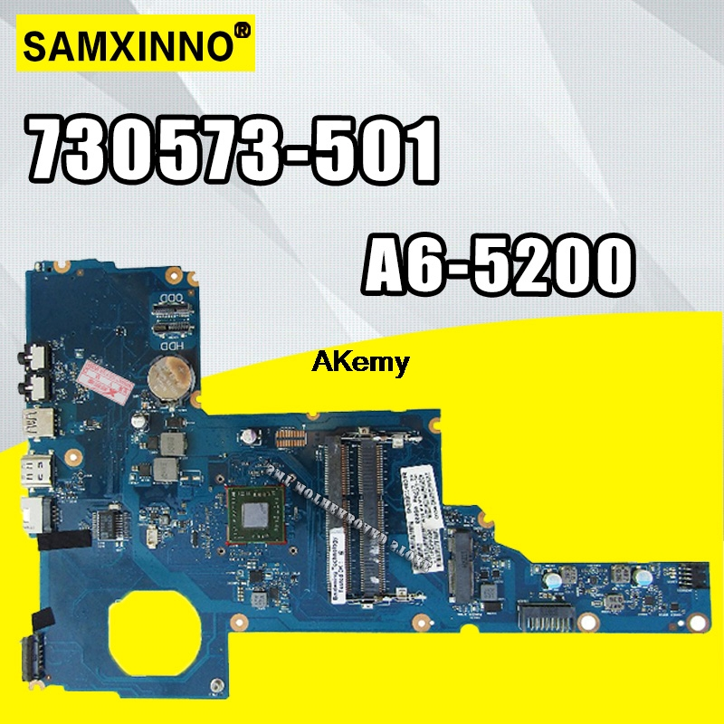 730573-001 For HP 2000-2D Laptop MOTHERBOARD A6-5200 730573-501 6050A2562701-MB-A02 DDR3 Integrated 100% Tested Good
