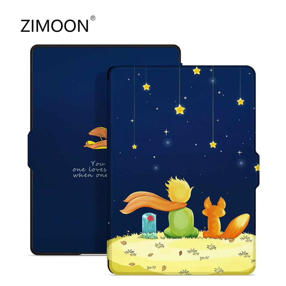 Case For Amazon Kindle 8th Generation 2016 Smart Shell Leather Flip Shock Proof Protective Cover For Kindle 8th Tablet Case
