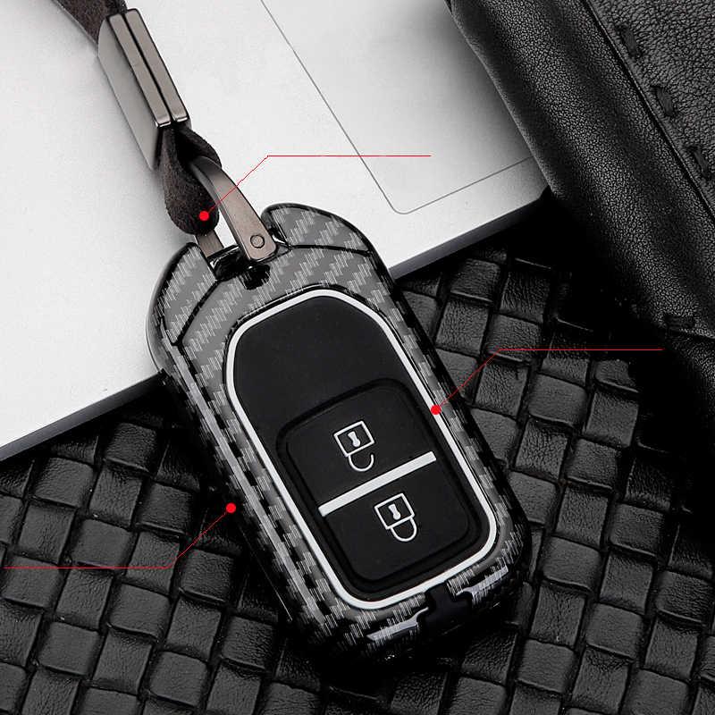 Aleación de Zinc de alta calidad + gel de sílice funda para llave de coche funda completa para Honda Hrv Civic 2017 Accord 2003-2007 Cr-v piloto liberado