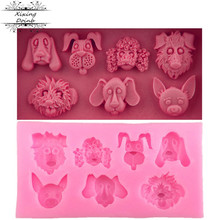 Candy Mold Chocolate-Mold Dog Silicone Clay Cake-Decoration-Tool Kitchen-Baking-Products