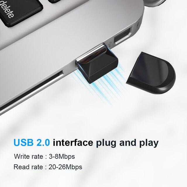 Super mini pendrive 4gb 8gb 16gb  usb flash drive 32gb 64gb Tiny pen drive Memory Stick Storage Device Hot sell WaterProof 5