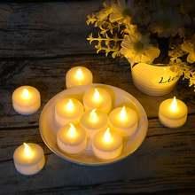 Светодиодный Пламенные светодиодные свечи работающие от батарейки
