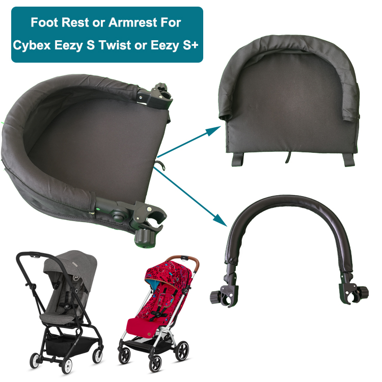 Stroller Accessories Armrest For Cybex Eezy+  Foot Board And High Quality  EVA Handrail For Cybex S  Twist Buggy Accessories