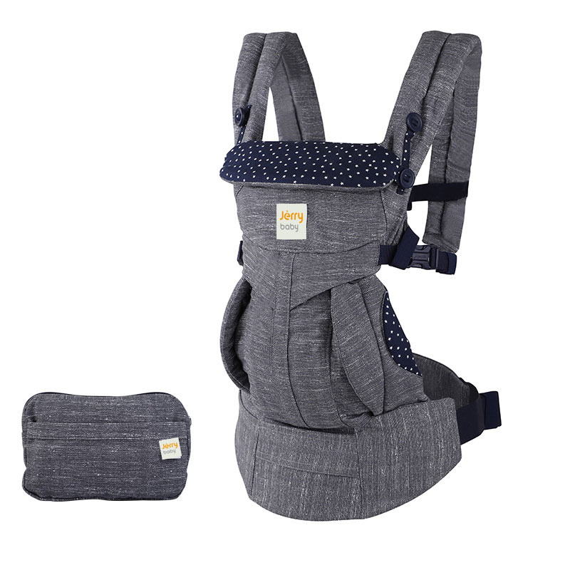 All-Position Baby Carrier for Newborn to Toddler with Lumbar Support For baby travel 0-36 Months