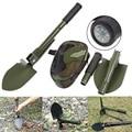 Портативная Складная лопата  садовые инструменты  компас  мультифункциональная Складная лопатка  инструмент для выживания  военная лопата ...