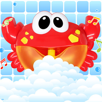 2020 Upgraded Version Of The Crab Bubble Machine Companion With Music Bubble Crab Bath Bathing Toy