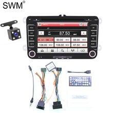 2 Din Car Radio 2din Autoradio for VW Auto Coche Gps Navigation Mirror Link Stereo Reversing Camera Radios Para