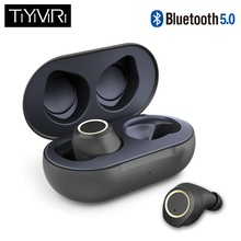 True Wireless Earbuds Bluetooth 5.0 Earbuds TWS Stereo Bluetooth Earphones Mini Waterproof Handsfree with Charging Box samload bluetooth earphone eb10 tws true wireless earbuds bluetooth 4 0 stereo earphones with charger box portable