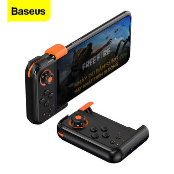 Baseus Drahtlose Bluetooth Gamepad Für PUBG Handy Gaming Controller Trigger Joypad Joystick Game Pad Für iPhone Android