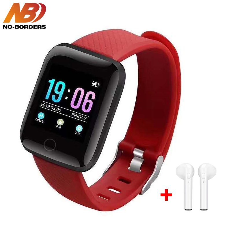 D13 Smart Watch Bracelet Heart Rate Tracker Pedometers Blood Pressure IP67 Waterproof 116 Plus Wirstband For IOS Androd PK IWO 8