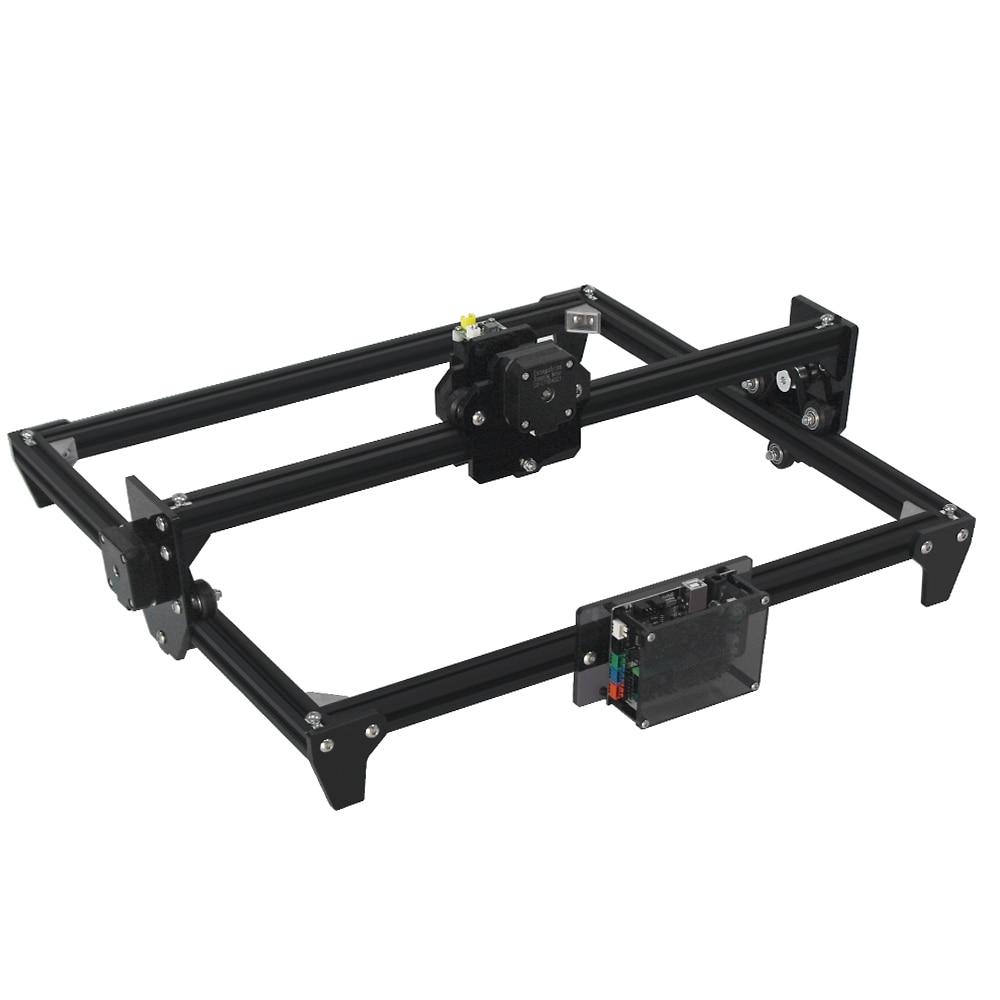 Image 3 - Mini Laser Engraving Machine 2Axis black silver color 30*40cm 2500MW DIY Engraver Desktop Wood Router/Printer + Laser Goggles3D Printers   -