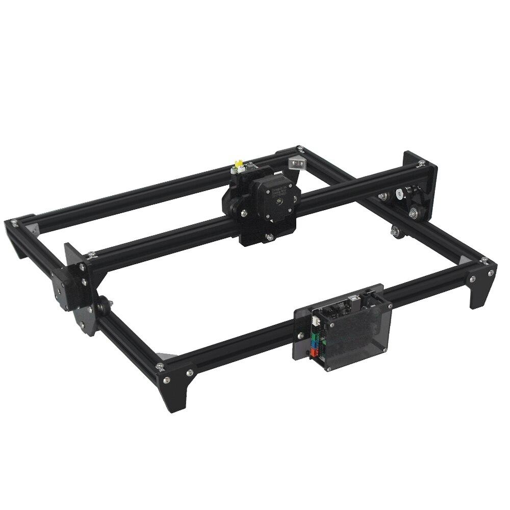 Image 3 - Mini laserowa maszyna grawerująca 2 osi czarny kolor srebrny 30*40cm 2500MW DIY grawer pulpit frezarka do drewna/drukarka + gogle laseroweDrukarki 3D   -