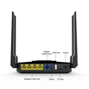Image 3 - Беспроводной Wi Fi роутер ZBT AC1200Mbps, двухдиапазонный 1 WAN + 4 LAN гигабитный USB портов с английской прошивкой, более широкое покрытие, ptp L2TP
