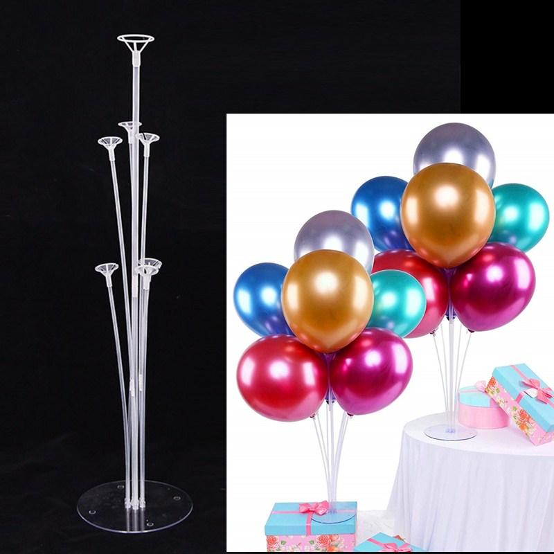 Прозрачная подставка для воздушных шаров, 1 комплект