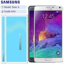 Ban Đầu 5.7 LCD Thay Thế Cho SAMSUNG Galaxy Note 4 Note4 N910 N910C N910A N910F Màn Hình Bộ Số Hóa Cảm Ứng