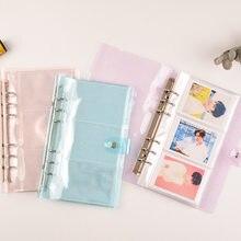 150 карманов ПВХ портативный фотоальбом желеобразный цветной альбом для мини Instax & Name Card 7s 8 25 50s альбом de Photos