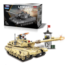 Gift Box The Military Technic 06021 Military Arms WW2 99 Tank Armored Model Building Blocks Toys Bricks With Figures In Birthday the military technic xingbao new 06042 army theme armored tank building blocks ww2 weapon figures bricks boy s birthday toys