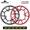 VXM Mountain Bike Crank Chainwheel 104BCD Road Bike Big Toothed Disc 40T/42T/44T/46T/48T/50T/52T Round Chainring Bike Parts