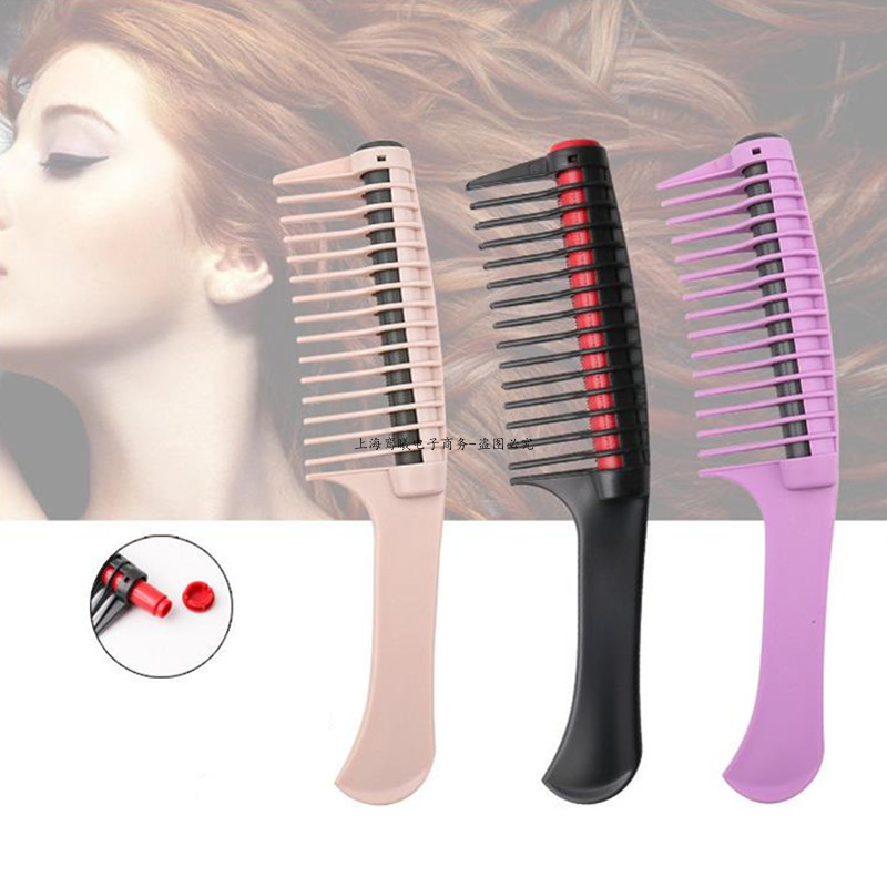 1Pc Professional Wide Tooth Hair Comb Brush Anti Static Salon Coloring Tools Barber Detangling Comb DIY Hair Styling Accessories