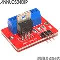 Комплект из 2 предметов, топ Mosfet Кнопка IRF520 Mosfet драйвер модуль для Arduino MCU ARM Raspberry Pi 3,3 в-5 в IRF520 Мощность MOS ШИМ затемнением светодиодный - фото