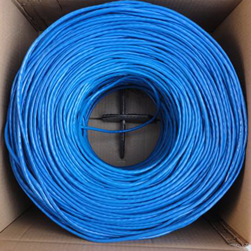 Indoor Super Six Types Of Unshielded Network Cable Computer Broadband High-speed Network Twisted Pair 300 Meters FCL