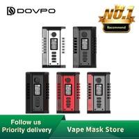 NEW Dovpo Odin 200W Box Mod wi/ Max 200W Output 0.96 inch TFT OLED Screen Box Mod Vapor E cigs VS Swag 2/Gen Mod/vinci / Topside