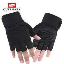 Полупальцевые перчатки для тренажерного зала тяжелая Спортивная