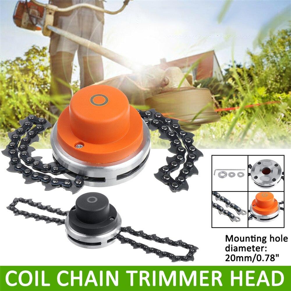 Lawn Mower Chain Brush B3 Chain Cutter Chain Grass Trimmer Head For Garden Lawn Mower Parts For Trimmer Garden Tools