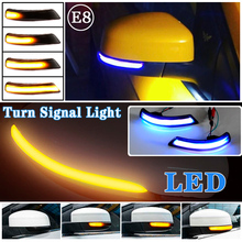 For Ford Focus 2 MK2 Focus 3 MK3 3.5 For Mondeo MK4 LED Dynamic Turn Signal Light Side