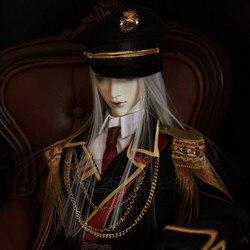 Doll Accessories BJD High-end Clothes Custom Made 70cm 72cm 1/3 1/4 1/6 Male Boy bjd Military Uniform Costume Suit Cool Loyal