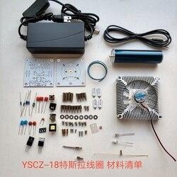 (Parts) Music Tesla Coil, Space Lighting, Plasma Speaker, Electronic Technology DIY Production