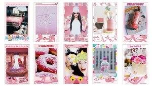 Image 3 - 10 folhas fujifilm instax mini filme instax mini 11 8 9 cor de rosa panther filme para fuji mini 7s 25 26 70 90 câmera instantânea SP 1 SP 2